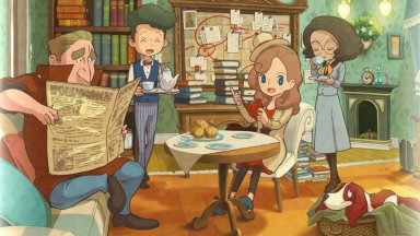 Рецензия: Layton's Mystery Journey - Katrielle and the Millionaires' Conspiracy