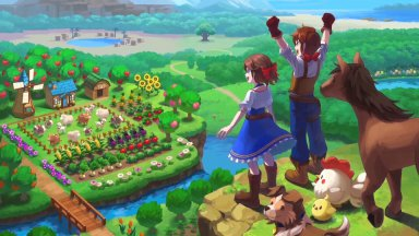 Рецензия: Harvest Moon - One World